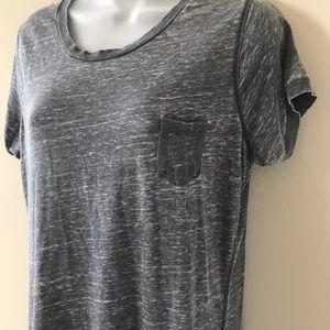 Poof! Tops - Soft, lightweight grey T-shirt